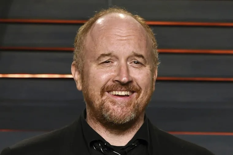 In this Feb. 28, 2016 file photo, Louis C.K. arrives at the Vanity Fair Oscar Party in Beverly Hills, Calif.