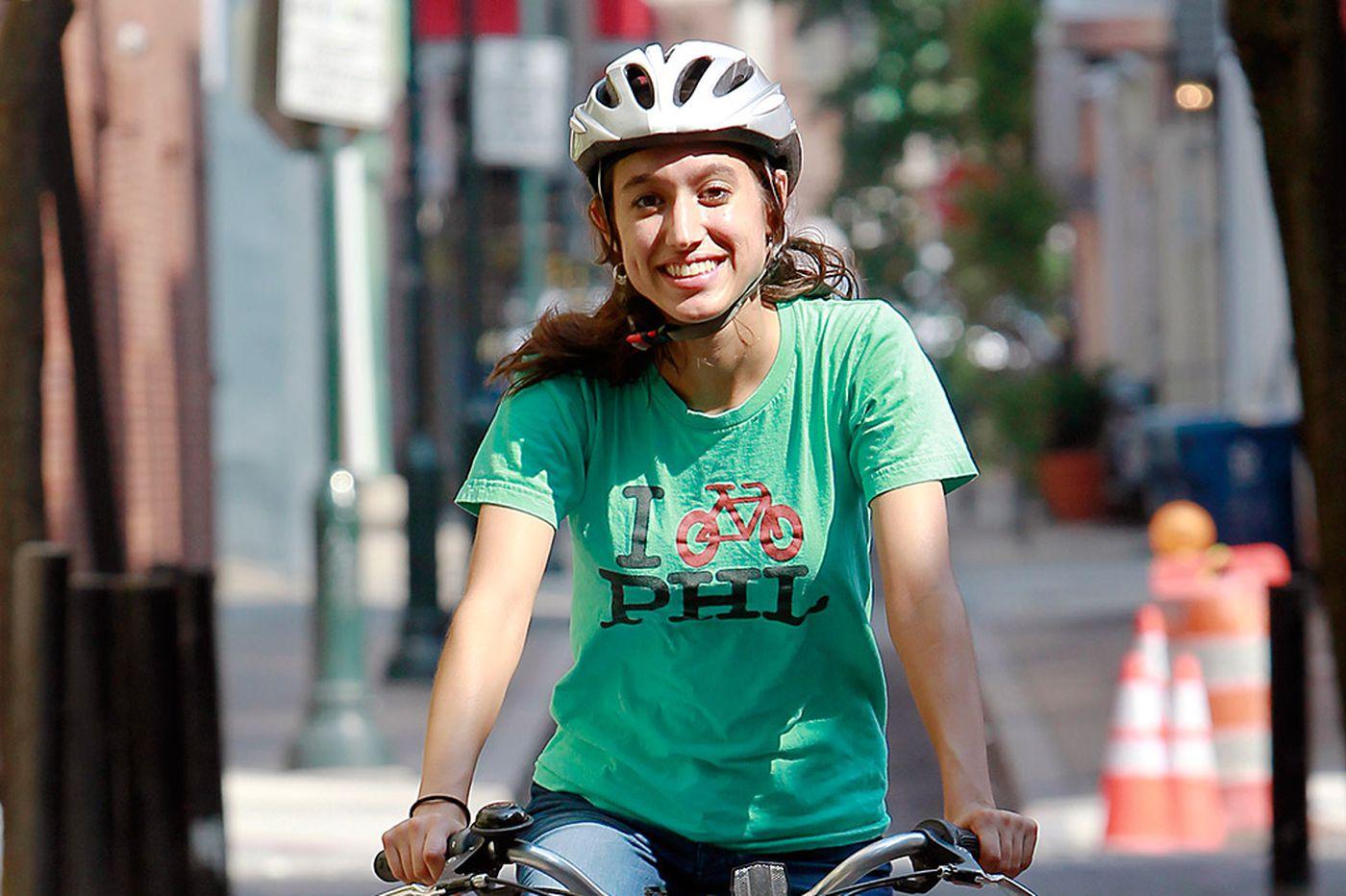 Fewer women than men ride bikes in Phila.