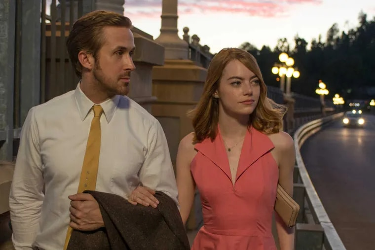 """Ryan Gosling and Emma Stone in """"La La Land,"""" a throwback to MGM song-and-dance classics."""
