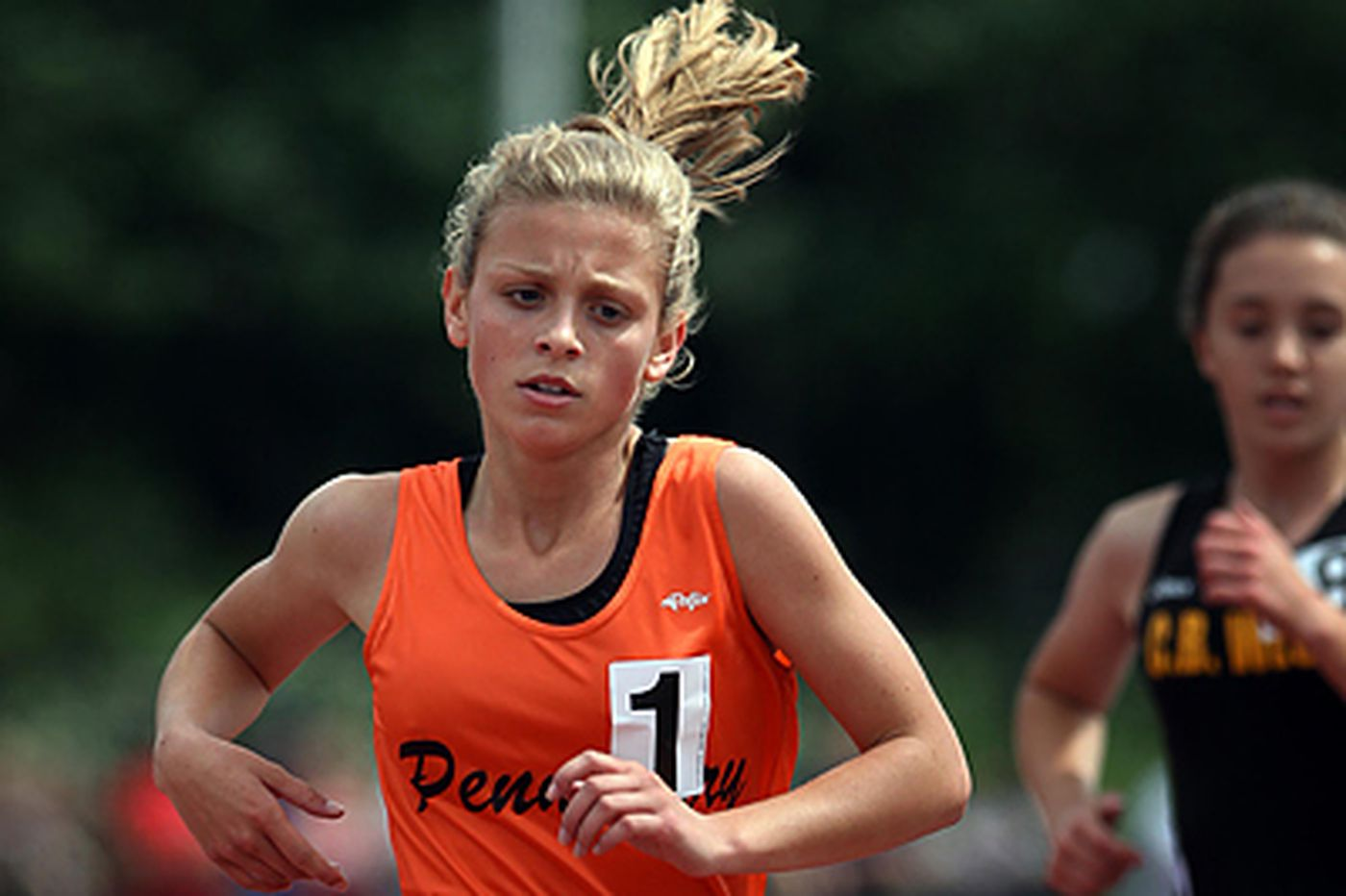 Pennsbury freshman breaks another district track record