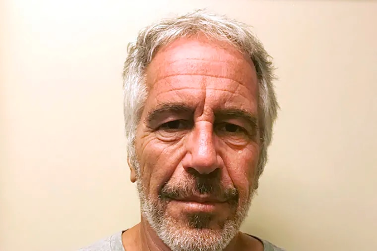 This 2017 file photo, provided by the New York State Sex Offender Registry, shows Jeffrey Epstein, said to have died by suicide while awaiting trial on sex trafficking charges Saturday in a New York jail cell.