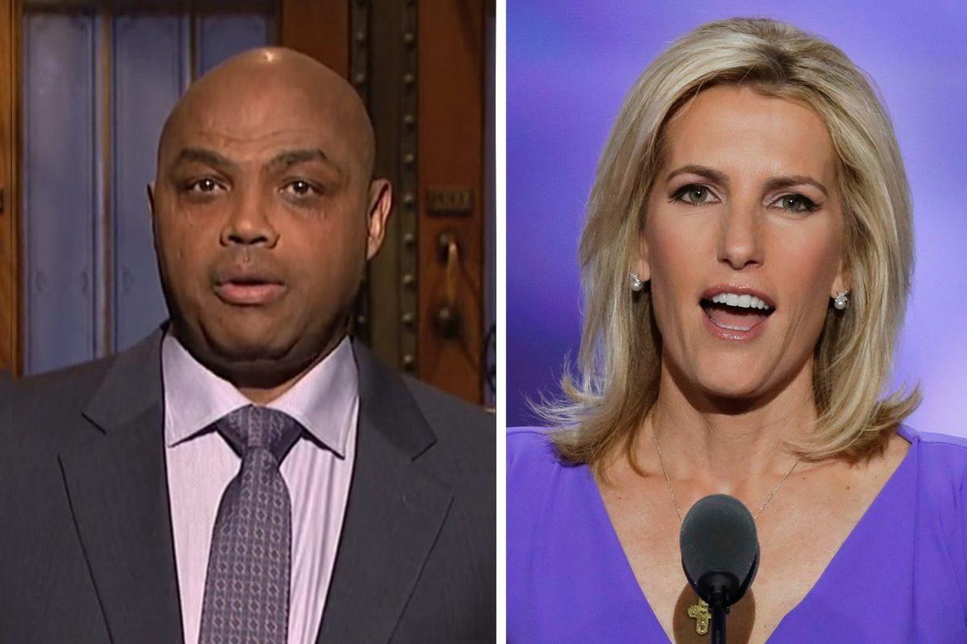 Saturday Night Live: Charles Barkley calls out Fox News 'lady' Laura Ingraham