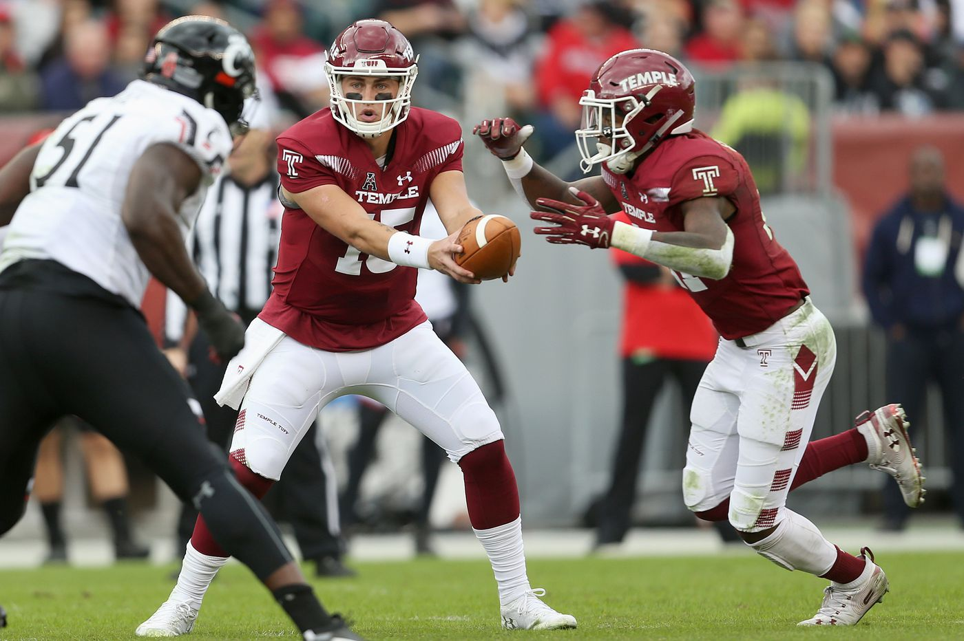 Temple picked to finish fourth in East Division in AAC preseason football poll