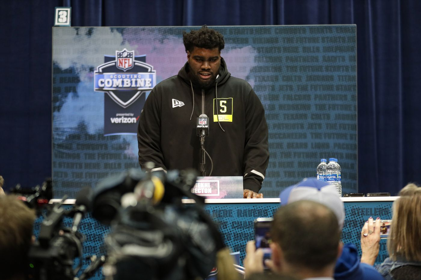 NFL draft flush with offensive tackle talent; Eagles likely to take one at some point