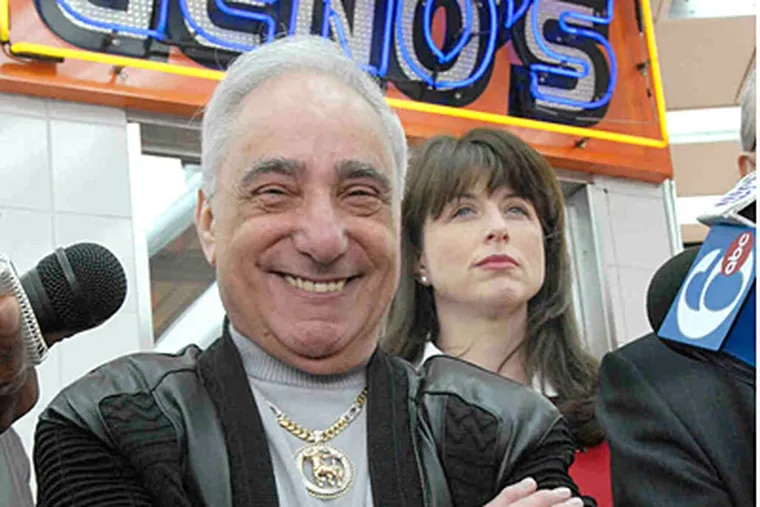 Geno's Steaks owner Joey Vento has died at 71. (Staff File Photo)