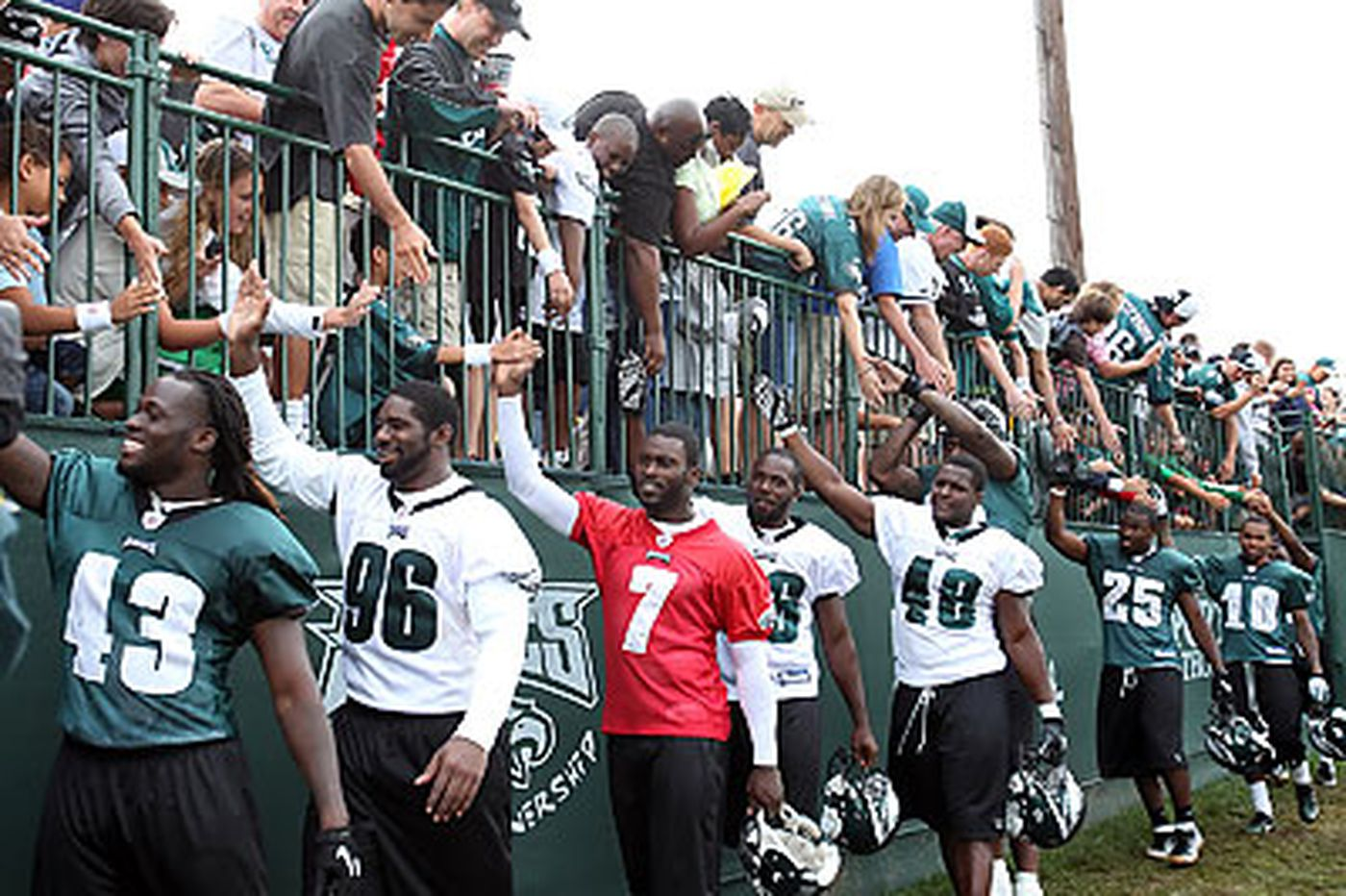 Eagles announce training camp dates