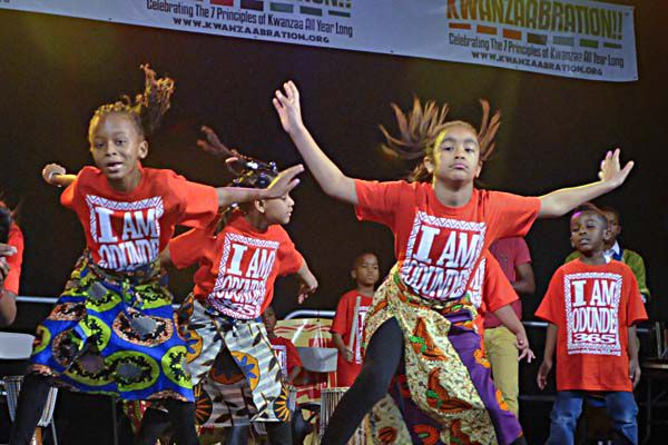 'Kwanzaabration' celebrates the holiday, and the seven cultural principles it honors