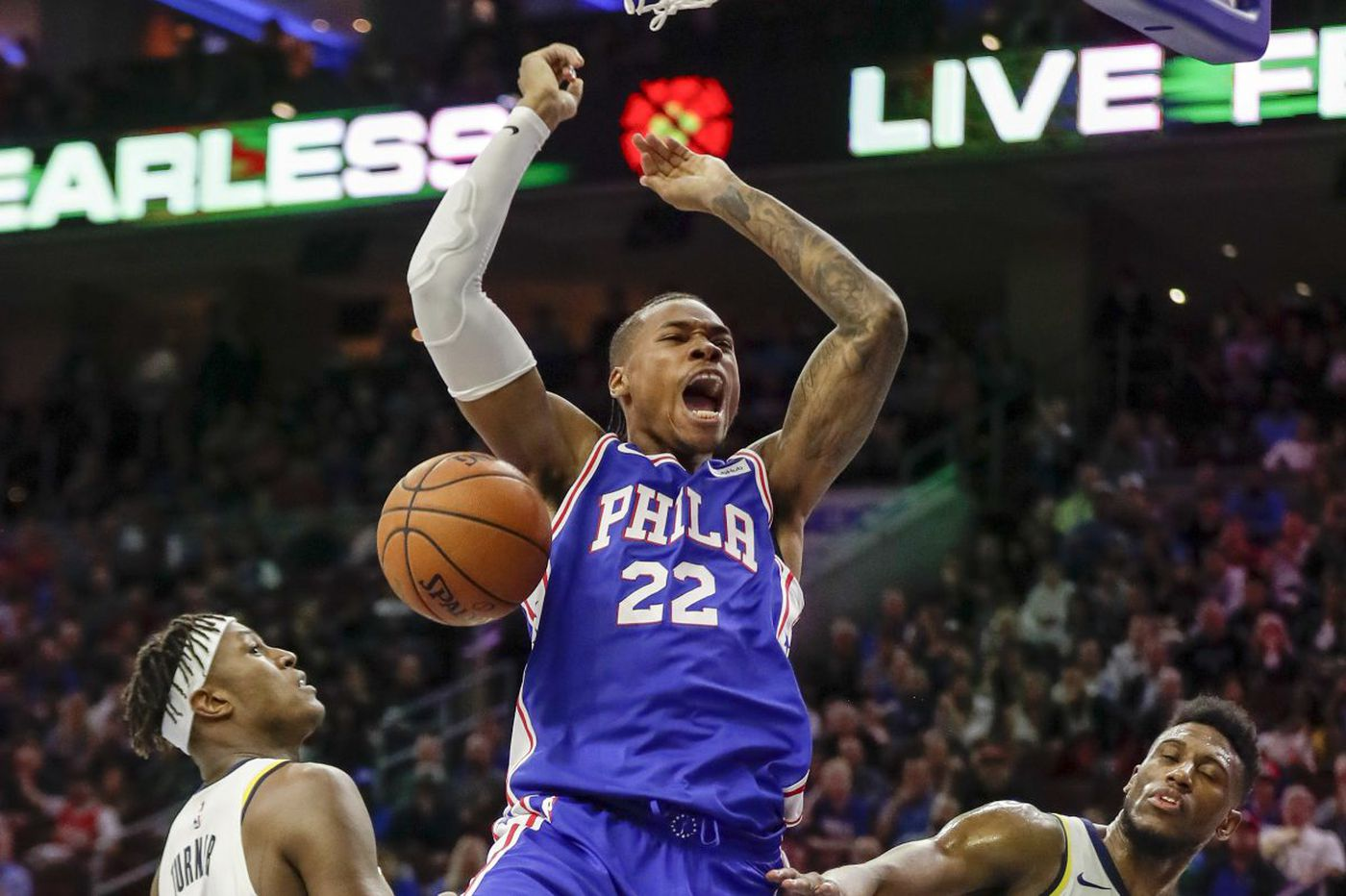 For Sixers' Richaun Holmes, 'it's just about the opportunity'