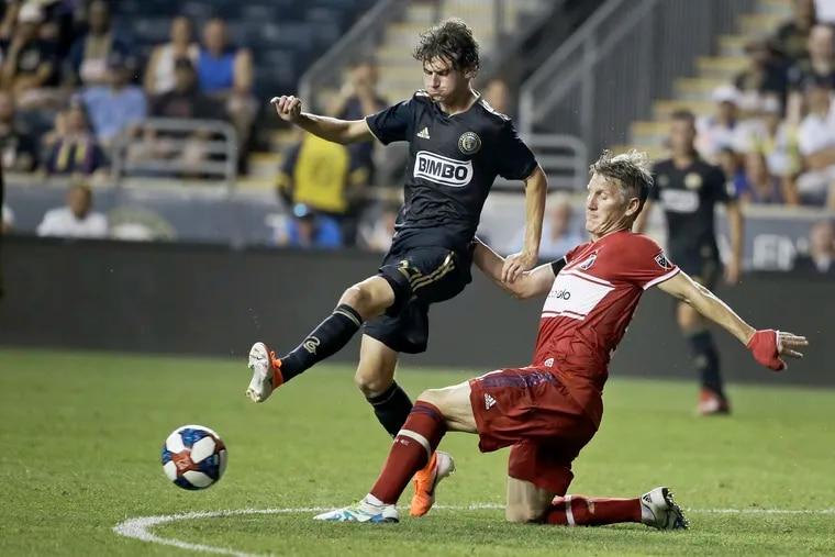 Union midfielder Brendan Aaronson earned his third invitation to the senior U.S. national team.