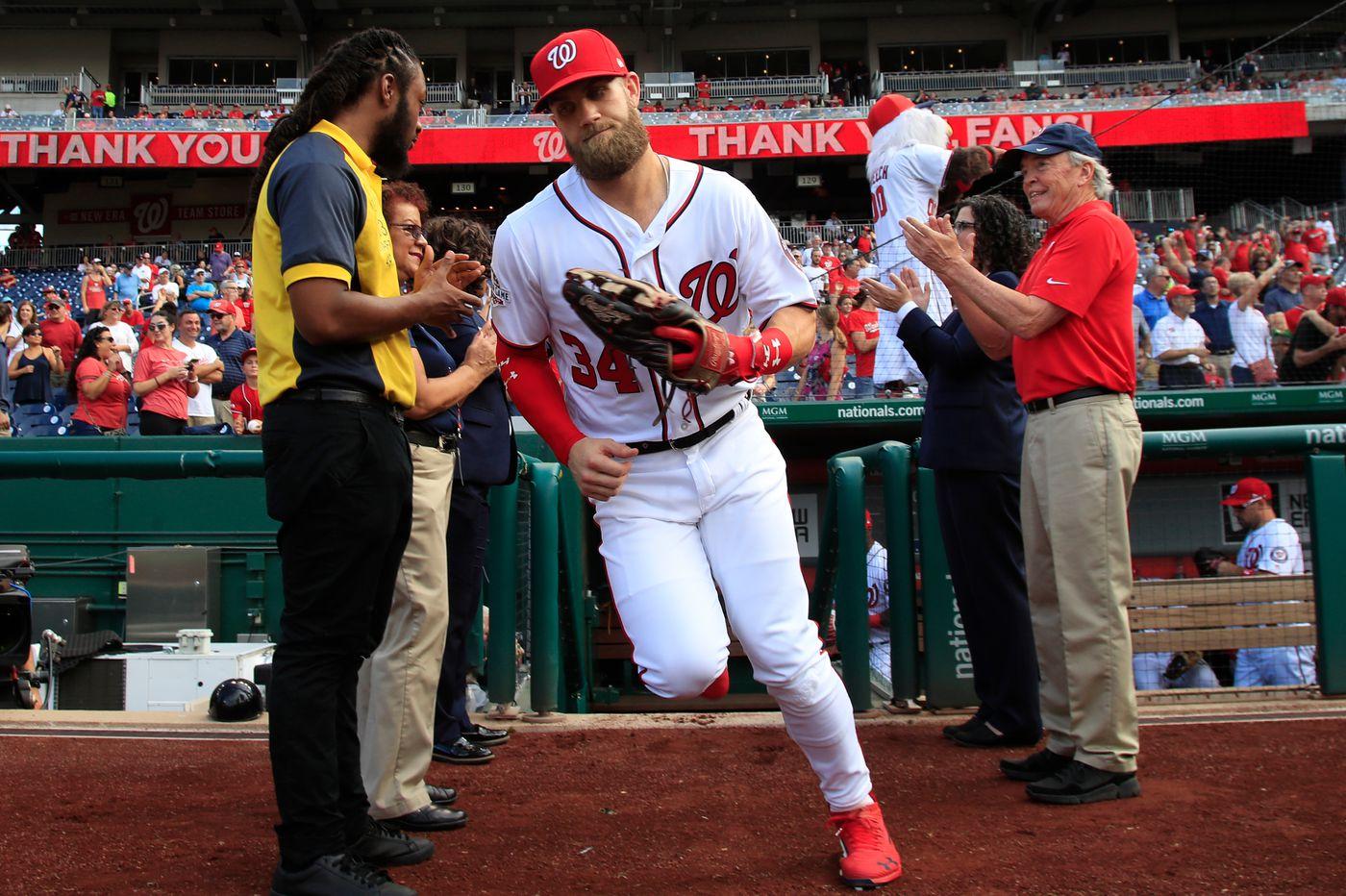 Bryce Harper's agent, Scott Boras, has grown fond of the Phillies   Bob Brookover