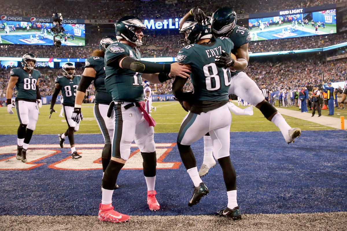 Eagles-Giants live updates: Birds lead 34-13 early in 4th quarter