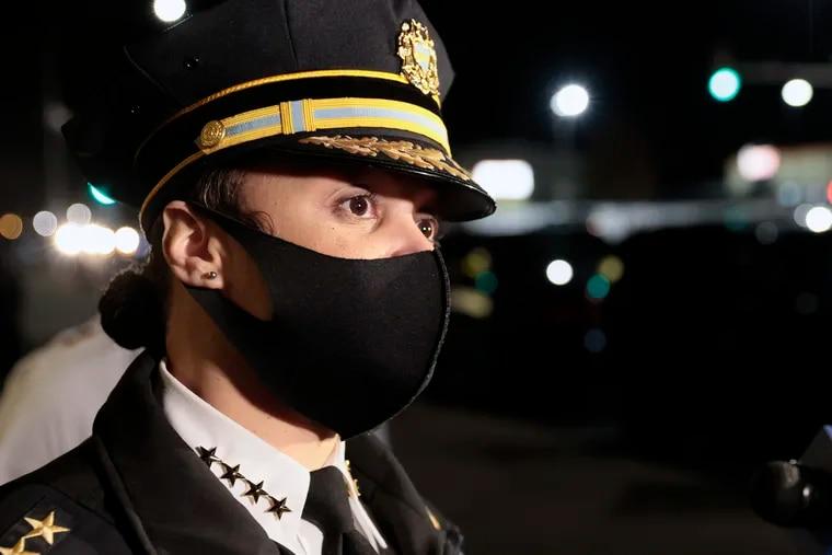 Philadelphia Police Commissioner Danielle Outlaw in a file photo.