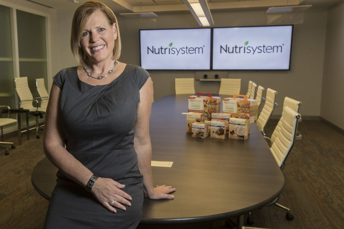 How Nutrisystem lost flab and got into fighting shape