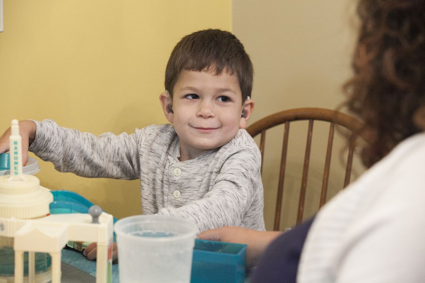 A 4-year-old Roxborough boy is a 1-in-170,000 child. His parents are racing against the clock to save him