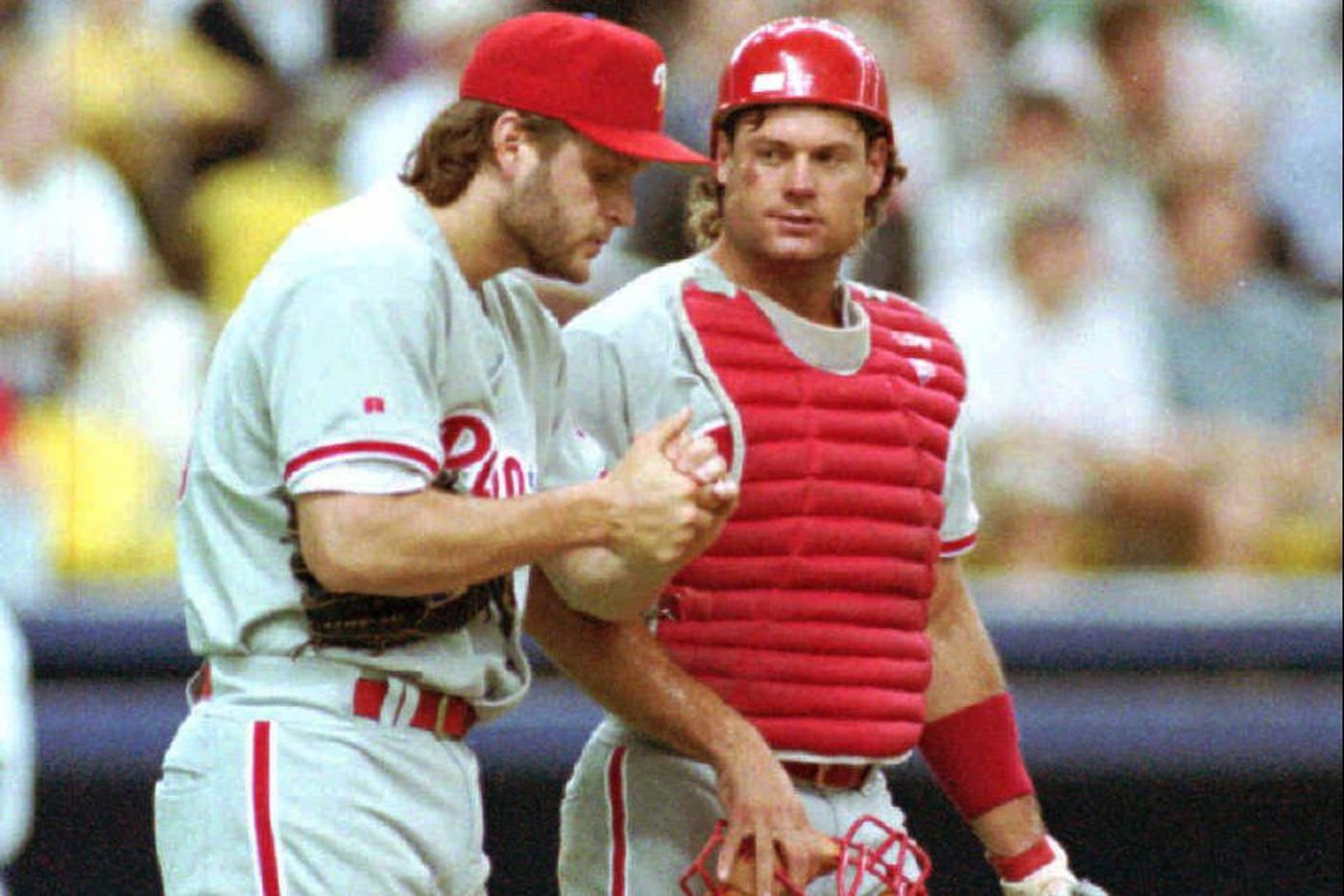 Tommy Greene recalls winning the NLCS clincher for '93 Phillies