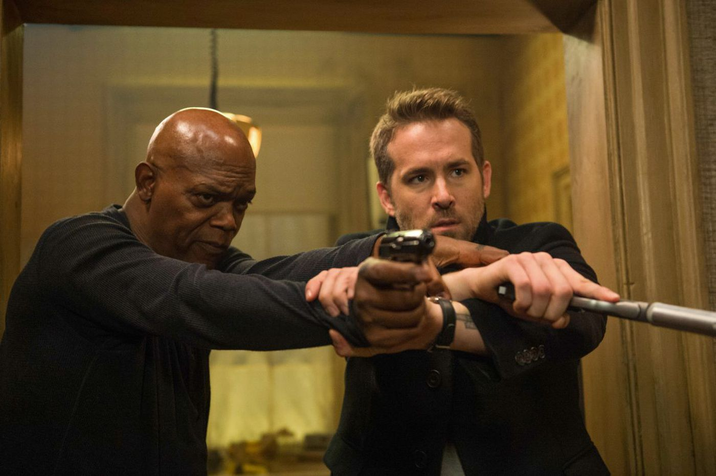 Suddenly in the mood for an antifascist exploitation comedy? 'Hitman's Bodyguard' nails it