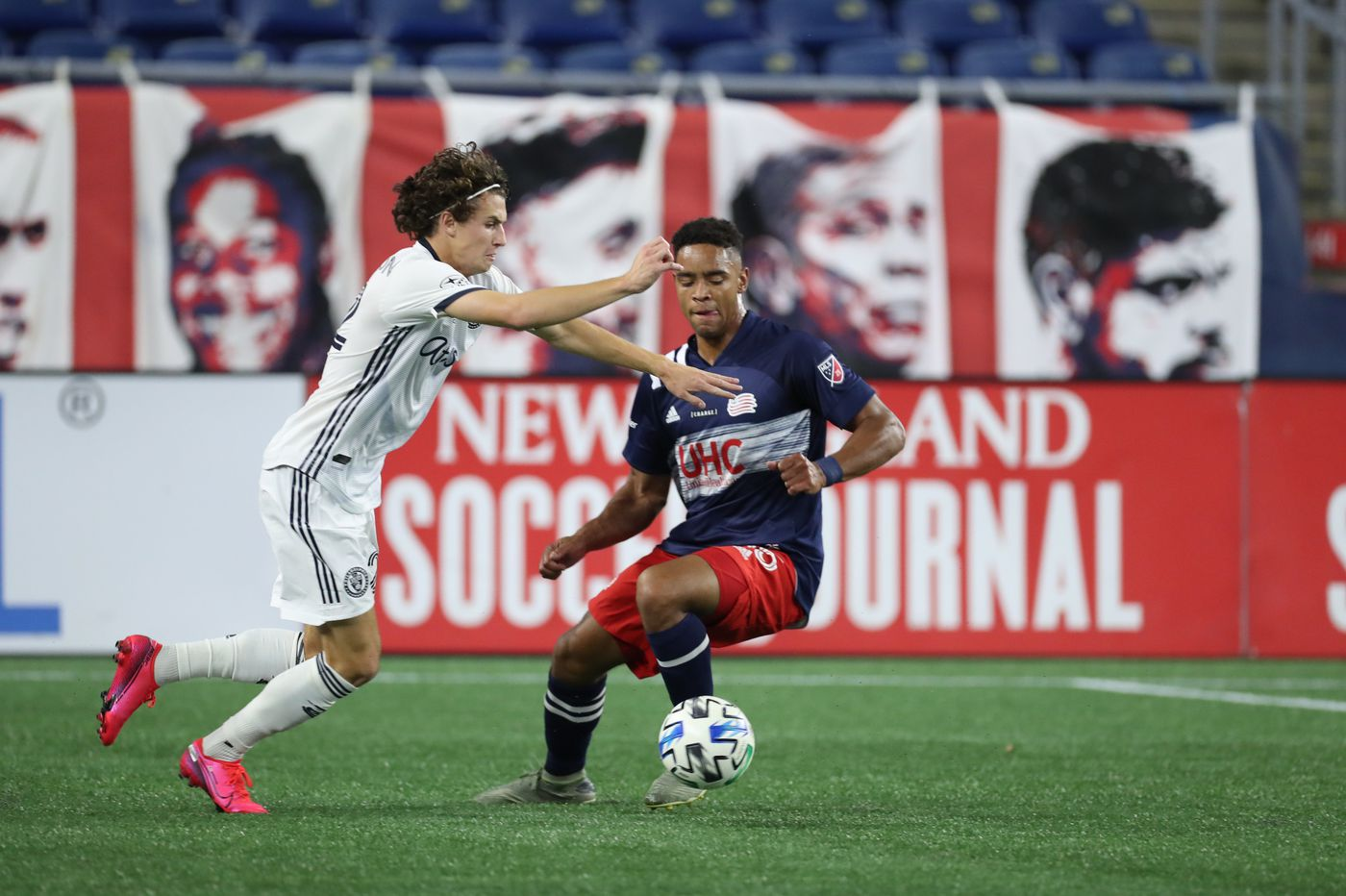 Union play 0-0 tie at New England Revolution in first game of resumed regular season