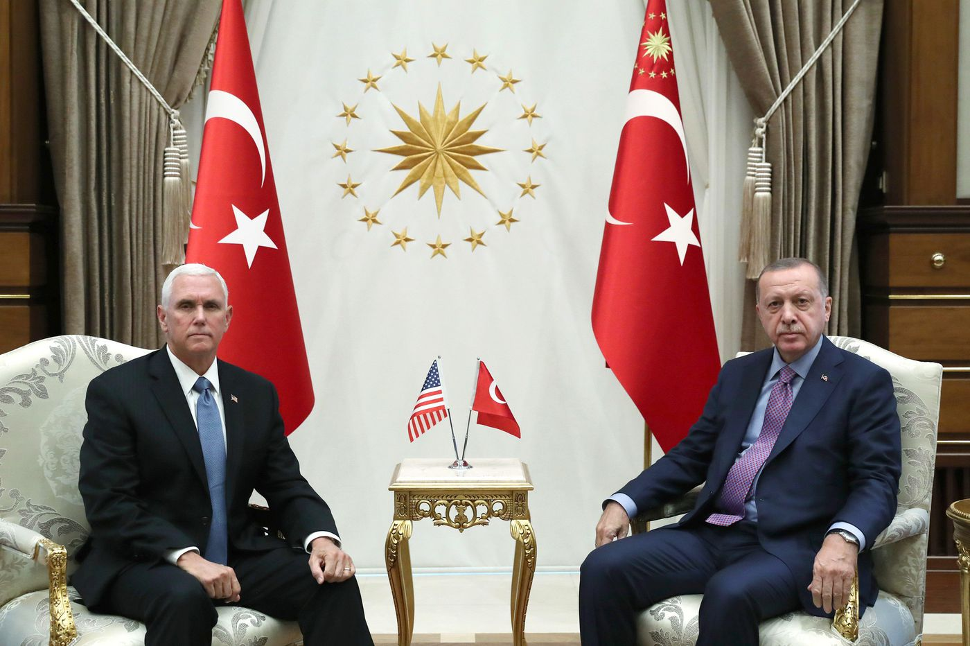 U.S., Turkey agree to 5-day cease-fire in Syria, Pence says, to let Kurds withdraw