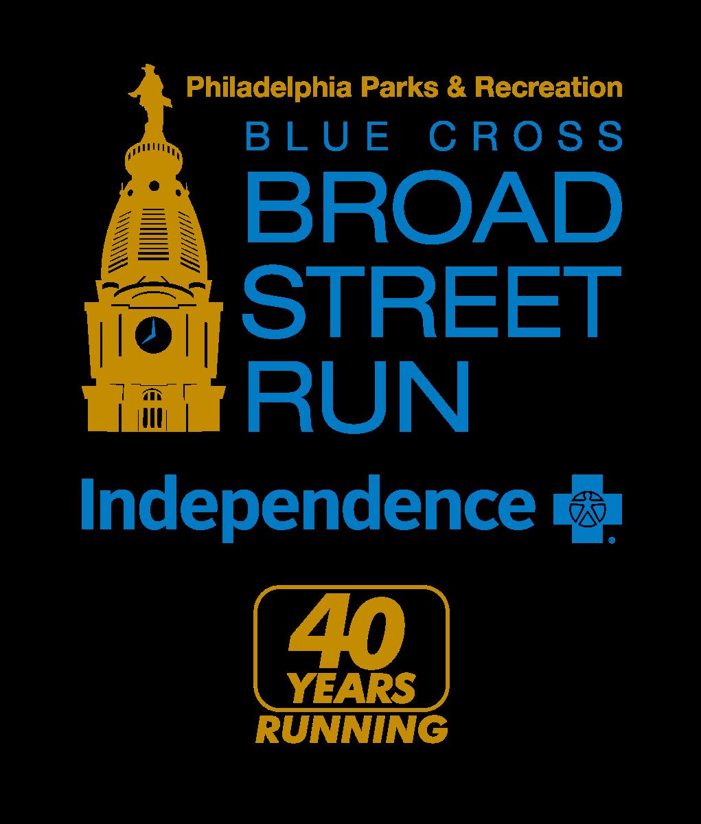 The new logo of the Blue Cross Broad Street Run.
