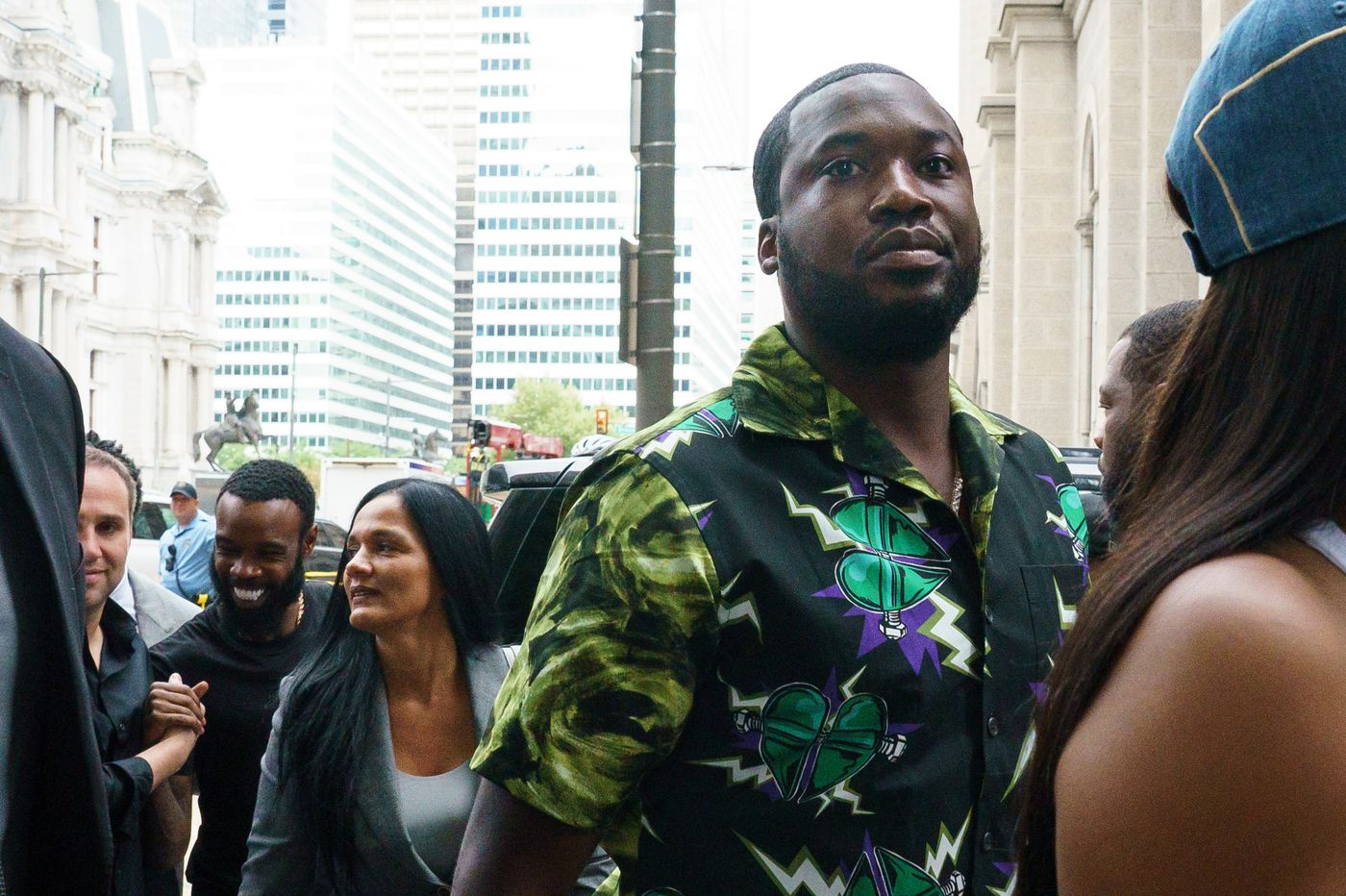 Meek Mill pleads guilty to a gun charge; all other charges dropped