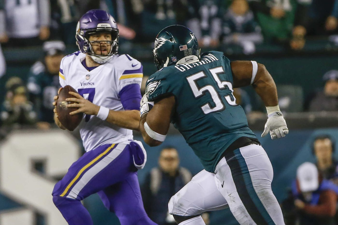 Brandon Graham turned out to be one of Andy Reid's final gifts to the Eagles