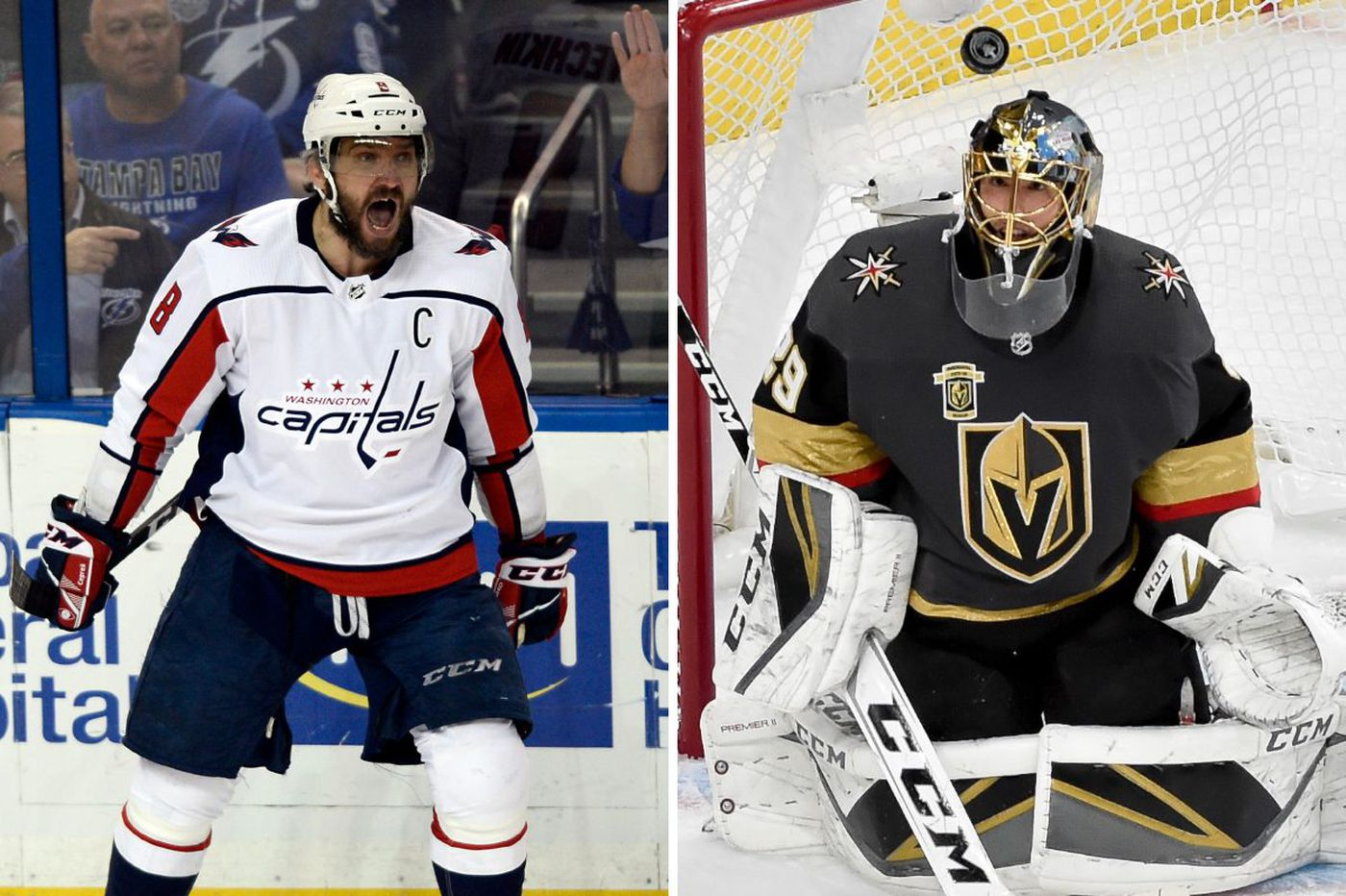 Vegas - Vegas! - and Capitals are ready for improbable Stanley Cup Finals