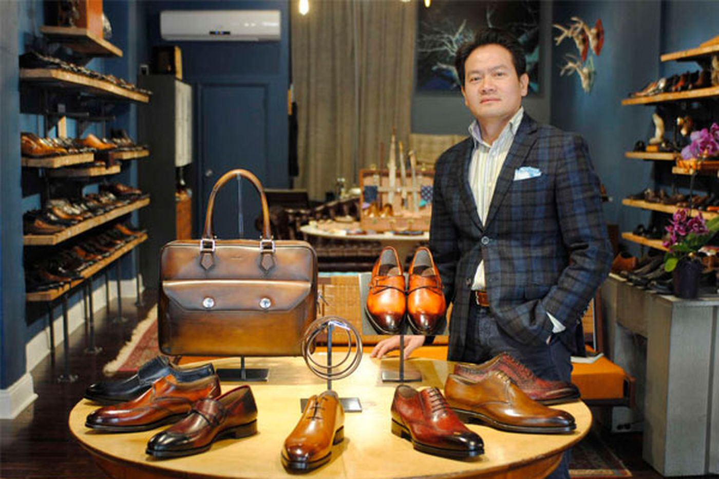 ToBox: When a men's shoe store is more like a man cave