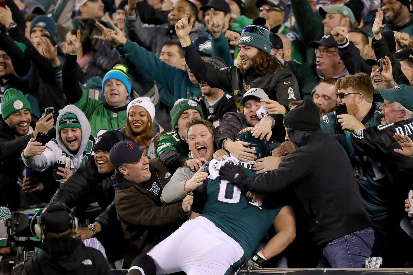Suddenly the Philadelphia Eagles are America's sweethearts