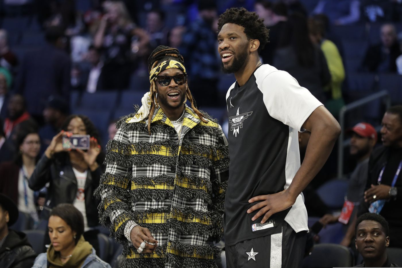 Joel Embiid played the All-Star Game on a bum knee and is sidelined again. Seriously. | Marcus Hayes