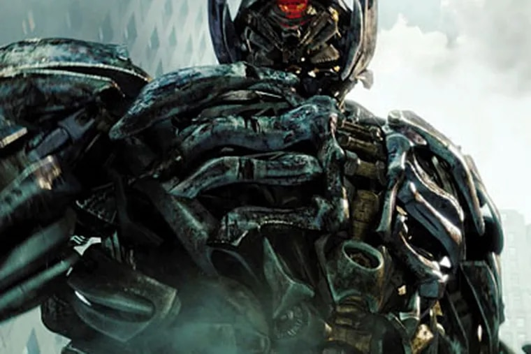 """""""Transformers: Dark of the Moon"""" is 154 minutes of car chases, metal-crunching crashes, jet fuel-fueled explosions, machine-gun fire, car chases, explosions, gun fire, and car chases."""