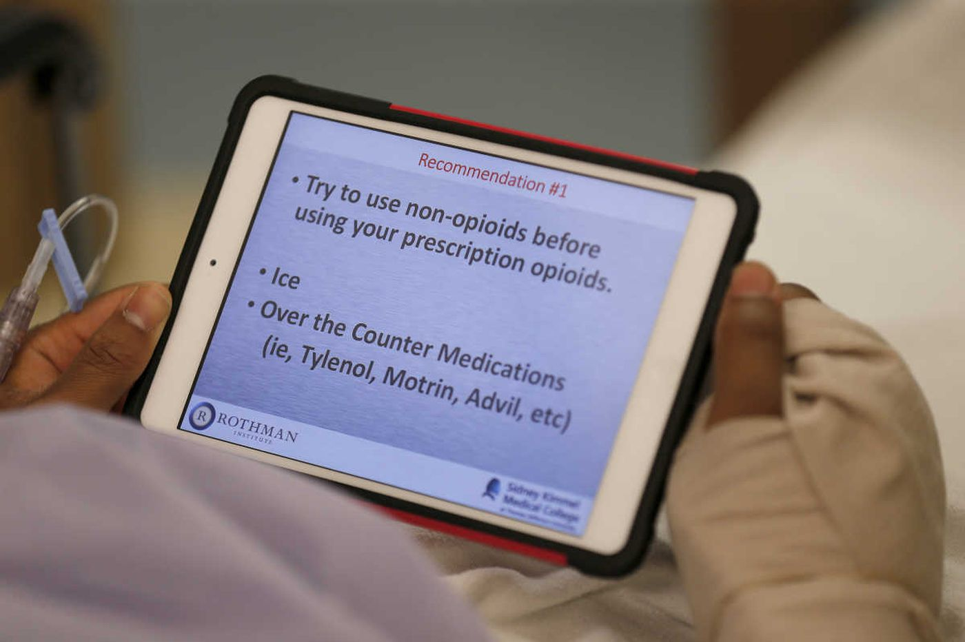 Here's something that curbs opioid use: Pre-surgical counseling