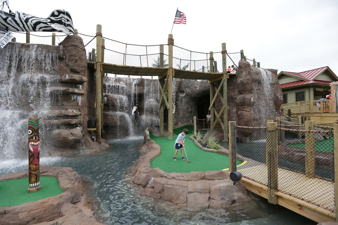 Margate warms up to mini-golf 'monstrosity'