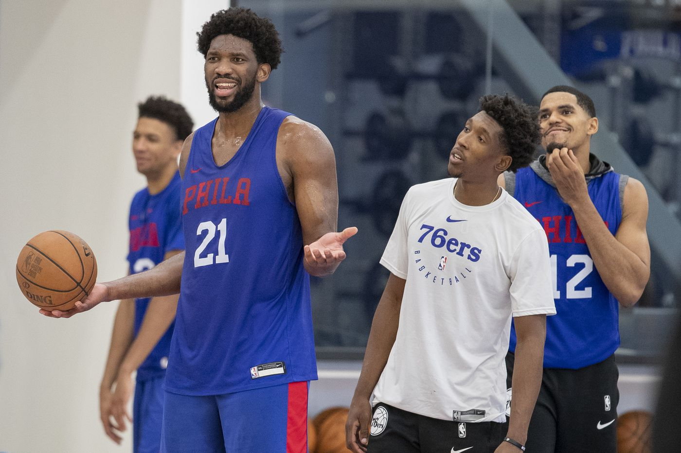 Joel Embiid questionable for Sixers game Wednesday; Josh Richardson is available