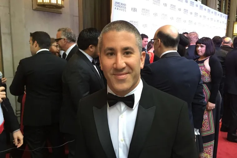 Michael Solomonov will be on 'The Rachael Ray' show on Friday. He's pictured here at the James Beard Awards