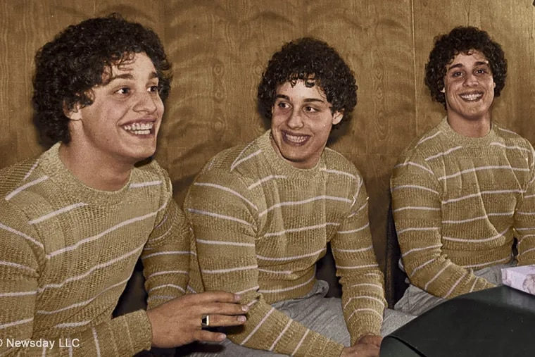 Separated for adoption soon after birth, three New York triplets were reunited at age 19, as retold in the movie Three Identical Strangers.