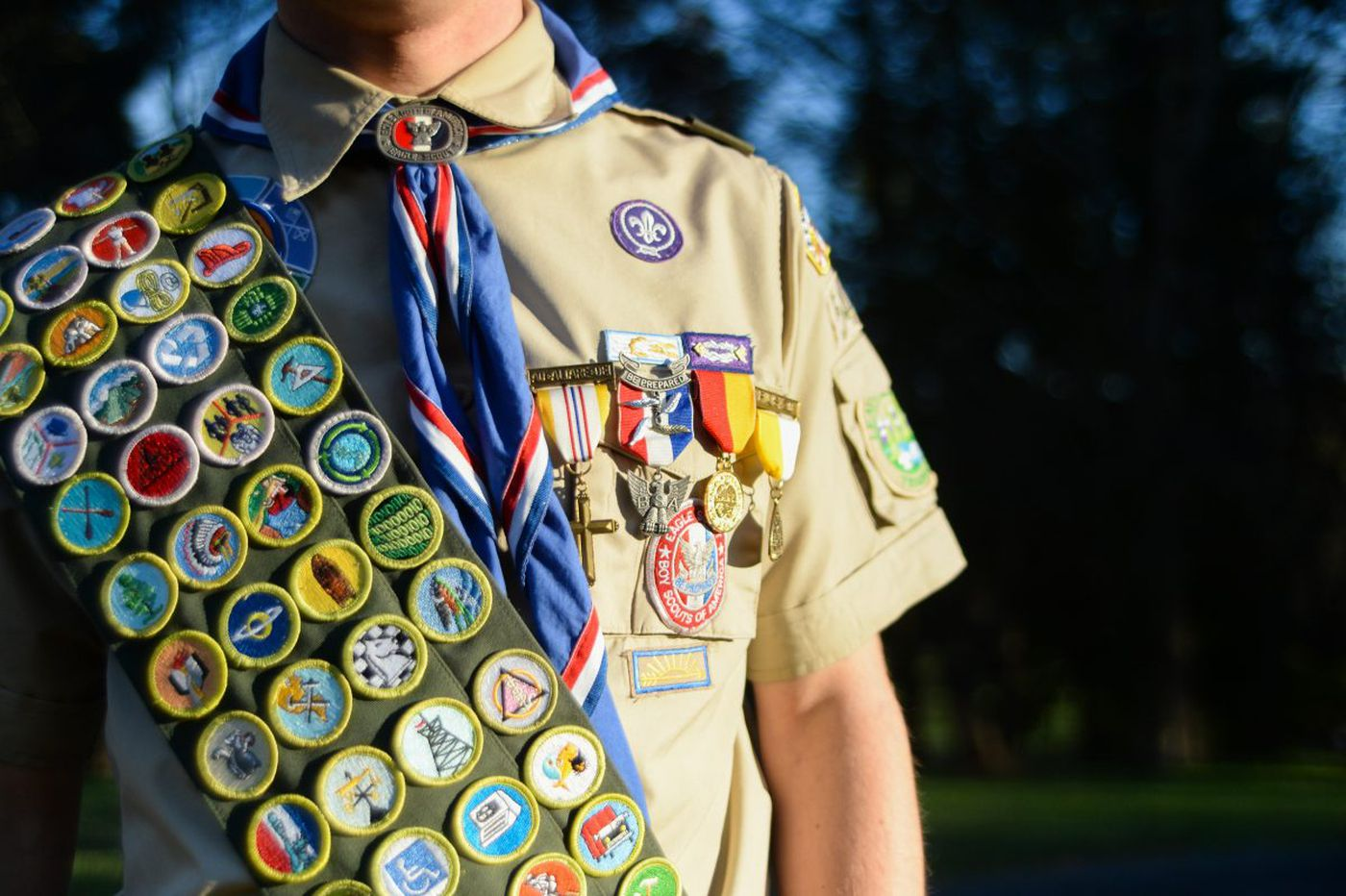 A rare achievement: Earning all 139 Boy Scout badges