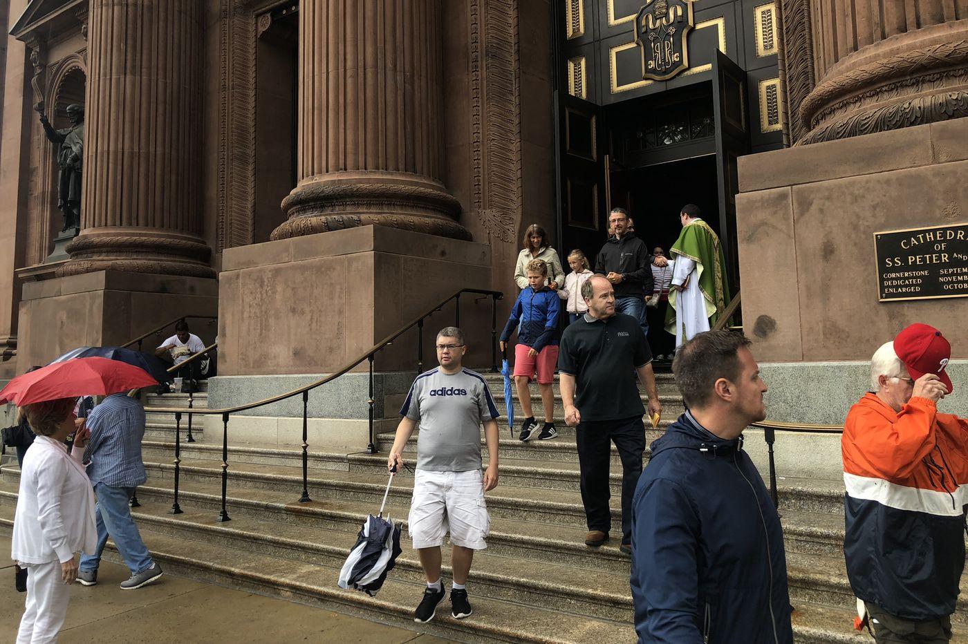 Area Catholics on Pa. grand jury report: 'It's sad … heartbreaking'