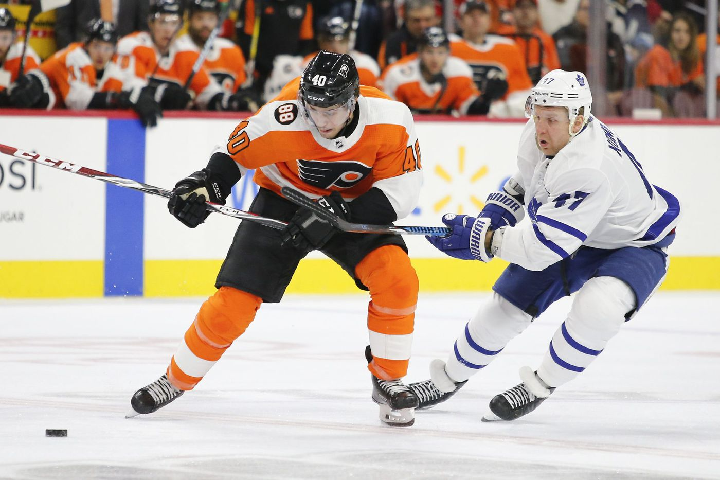 Jordan Weal, Scott Laughton frontrunners for Flyers' No. 3 center spot