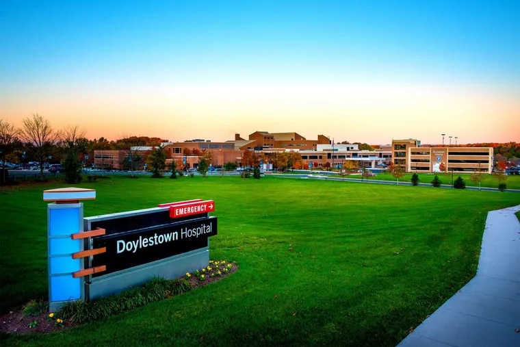 Two major credit-ratings agencies downgraded Doylestown Health's credit rating, citing deteriorating operating results. The system is anchored by Doylestown Hospital.