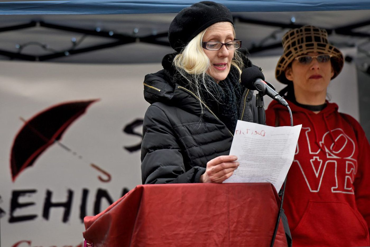 Sex workers victimized by violence remembered at Philadelphia vigil