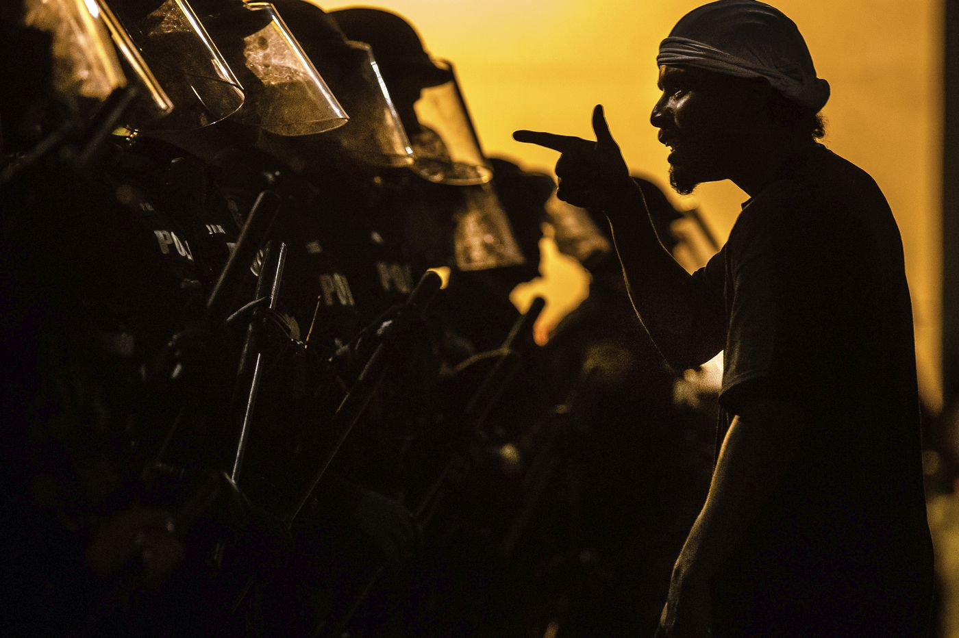 Retreat or deploy? Police try to balance protest response
