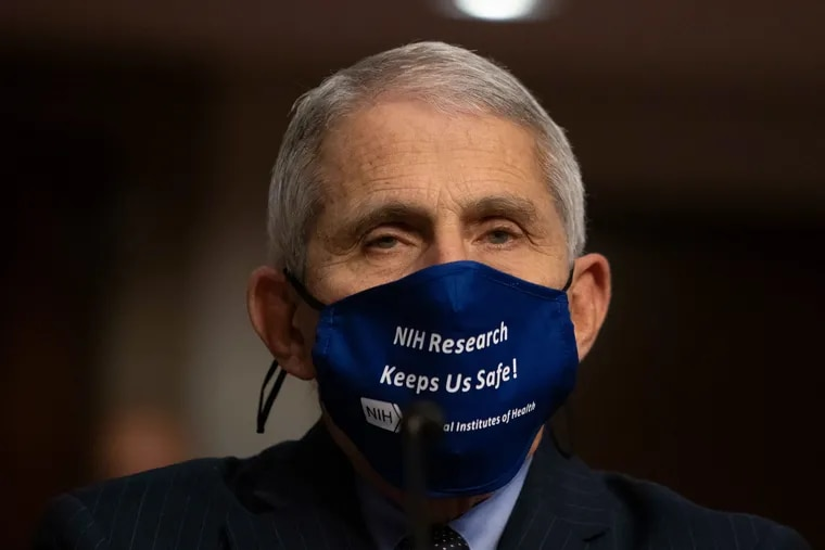 Dr. Anthony Fauci, director of National Institute of Allergy and Infectious Diseases at NIH.