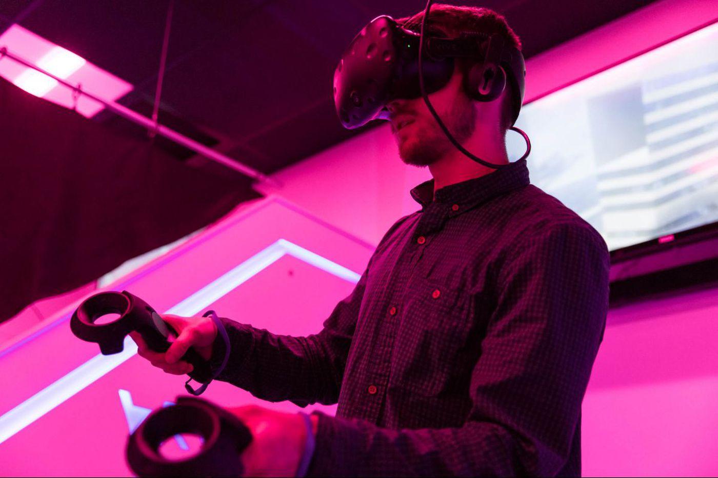 Liberty's virtual reality arcade in Glassboro will let you feel like Iron Man