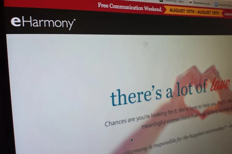 Rival Match.com challenged eHarmony.com's saying it had made a greater number of satisfying, longer-lasting marriages, among other assertions.