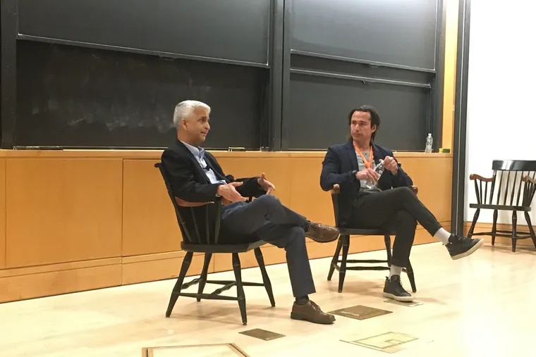 Former U.S. Soccer Federation president Sunil Gulati was one of the keynote speakers at the inaugural Princeton Soccer Conference.