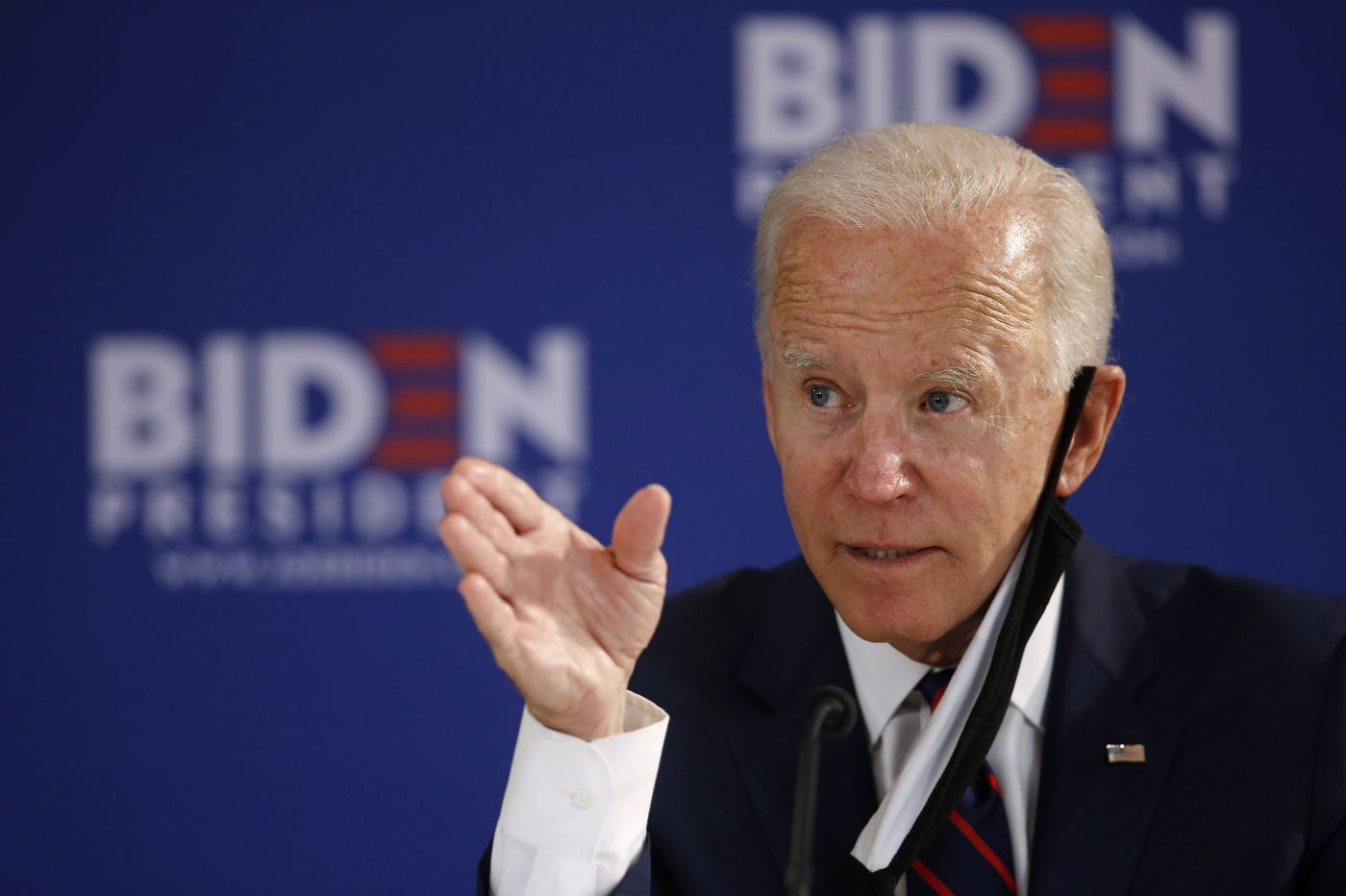 Joe Biden used a visit to West Philly to introduce his plan to restart the national economy