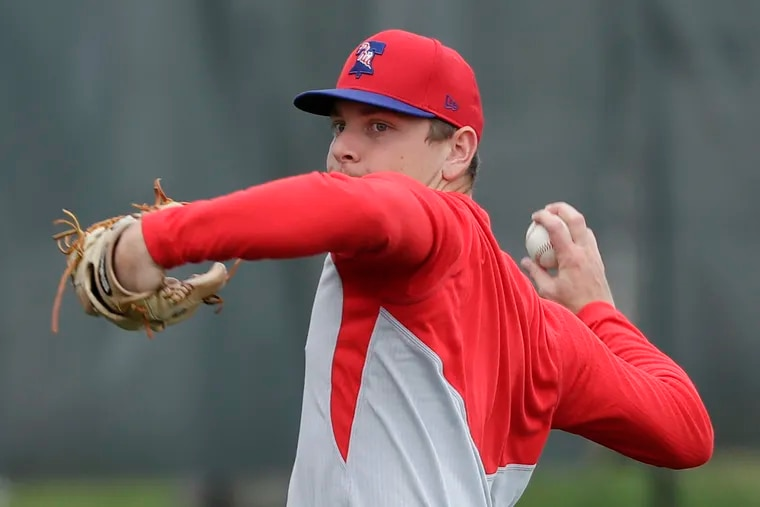 Phillies top pitching prospect Spencer Howard incorporated yoga and meditation into his training during three years in college at Cal Poly.