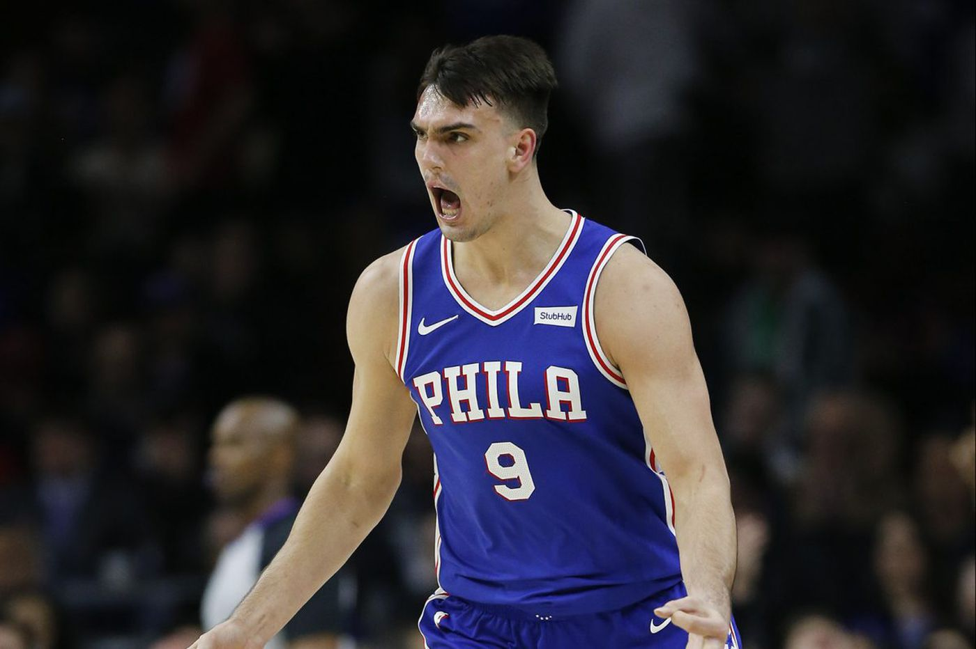 Dario Saric's effort appreciated greatly by Sixers teammates