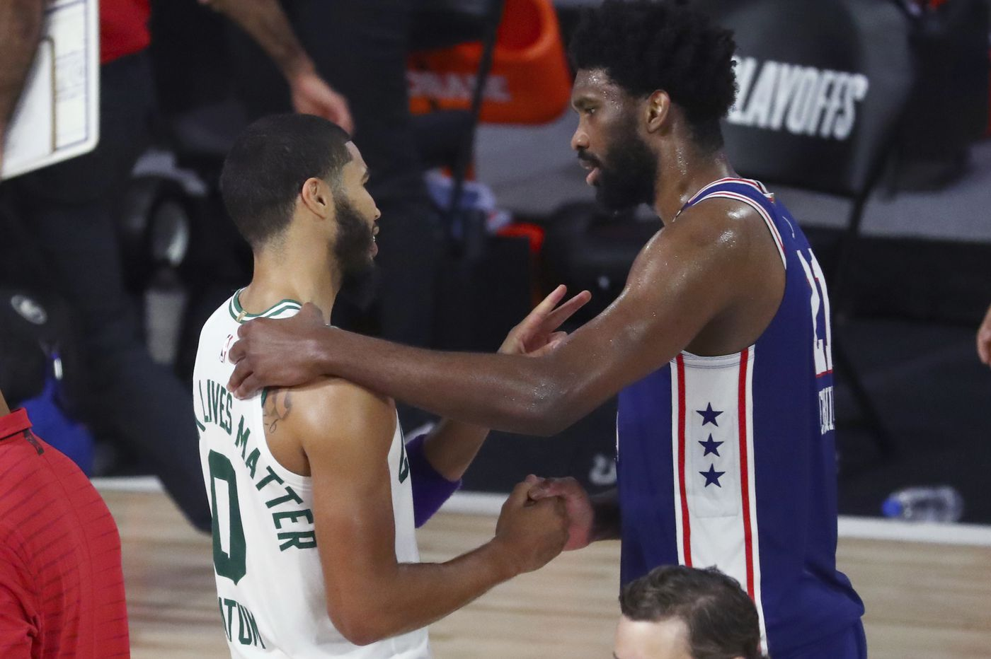 Joel Embiid: 'We got to do better. We got to look ourselves in the mirror'