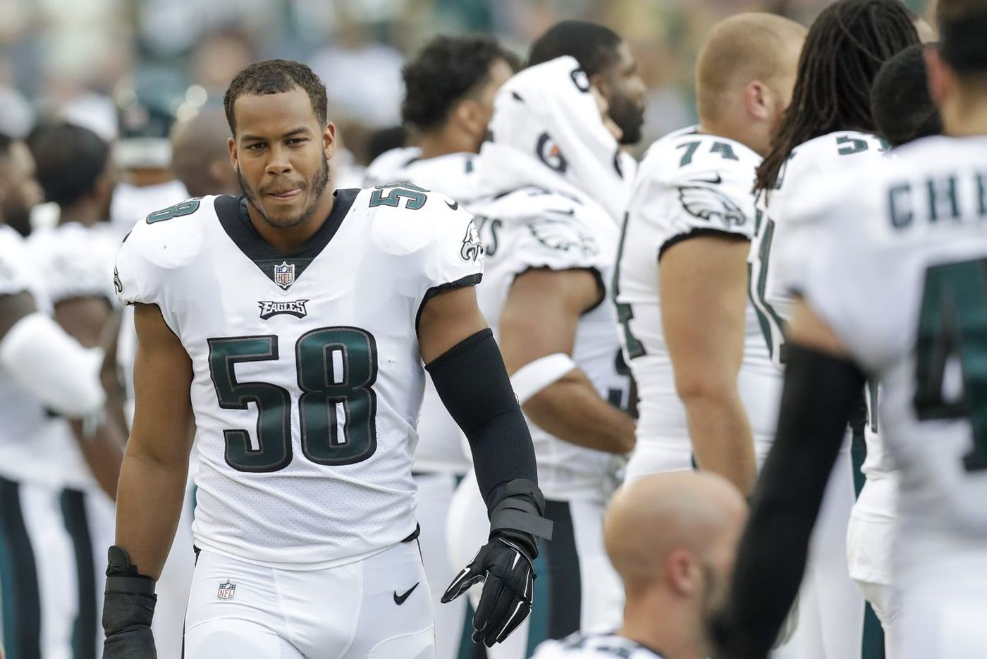Eagles linebacker Jordan Hicks on Week 1: 'I'll be there'